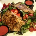MS WaterStone Grill Strawberry dinner salad