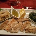Parrillada de pescados frescos