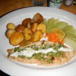 Cilantro fish