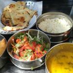 Tandoori shrimp lunch,  all included $12