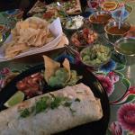 Burritos, quesadillas, tortilla chips and great salsas.