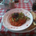 Chicken and Chorizo Red Lentil Cassello