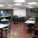 Our newly renovated breakfast area!