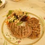 Grilled tunafish