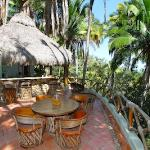 Palapa Tigre dining area