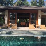 Villa pool and main house
