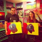 Buffalo themed paint night!