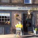 Refurbished Shakespeare's looking great. Great place to sit for lunch.