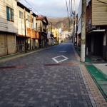 Jalan Akses Hotel-Stasiun Gekkoji