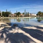 Sandy pool