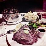 Amazing steak, mussels and fries, all great value at 20 AUS dollars per main meal. And Belle Vie