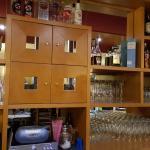 Übersichtliche Bar