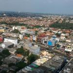 Depok from above