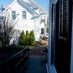 The path from the Carriage House
