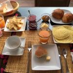 Breakfast for 2 on the terrace