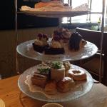 Afternoon Tea - fantastic!  Both of us enjoyed the service and food at Ashfields.