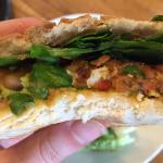 Inside the Vegan Beanburger