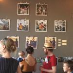 Photo exhibit at Noisette