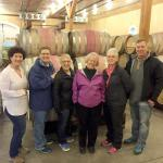 Meeting winemaker, owner Cathy Corison at the winery.