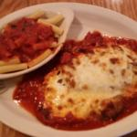 The Veal Parmigiana.