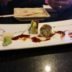 Green Dragon Roll. Hardly any dragon to be found!