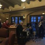 Live jazz in Remington's piano bar