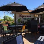Esparza's outdoor patio