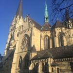 Kreuzkirche vor dem Grotes