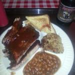 Bakers rib plate