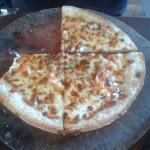 Pizza au saumon, enfin faut le trouver :)