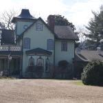 Mountain Magnolia Inn, on the side of the breakfast room