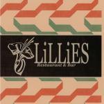 LiLLiES Restaurant and Bar Menu Cover