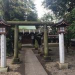 本殿横の金比羅神社