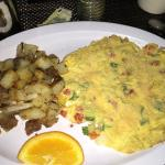 Frittata with home style potatoes