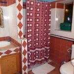 Baño en suite del Riad