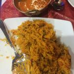 Murg (chicken) biryani