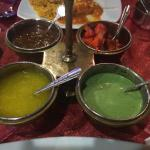 Chutneys served with free appetizer