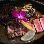 Tuna with Red Quinoa