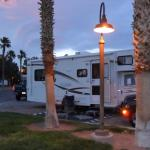 RV SPOT AT KOA AT SAM TOWN
