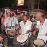Small street parade in Grand Case - Harmony Night