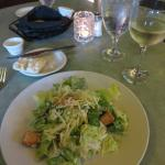 Caesar salad with housemade dressing
