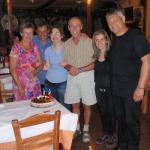 The owners and wife's with 2 dear friends celebrating their 31 wedding anniversary at 20 June 20