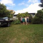 Standing in front of the 2 bedroom, rural getaway at The Guest House at Malanai in Hana