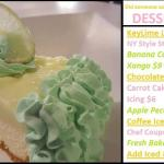 on special- KeyLime Cheesecake!