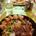 BoBun / Soupe raviolis crevettes