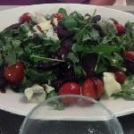 My friend's salad--huge portion!