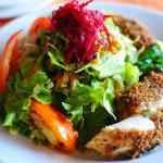 Grilled Fish Salad at Kariwak Village