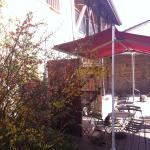 terrasse idéale pour le petit déjeuner