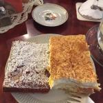 Eine kleine Auswahl der angebotenen Kuchen