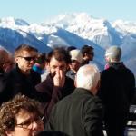 vista panoramica sul monterosa